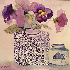 Cheryl Curnick - Watercolours
